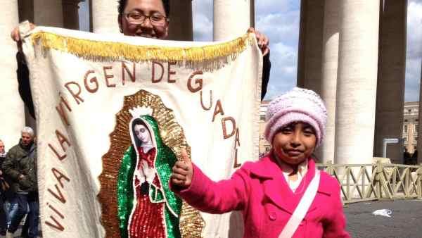 Liberan al padre de la niña mexicana que conmovió al Papa