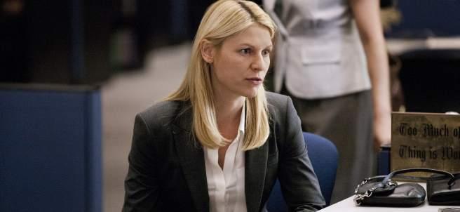 La agente Carrie Mathison (Claire Danes) en ´Homeland´