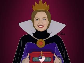 Hillary, la mala de la película