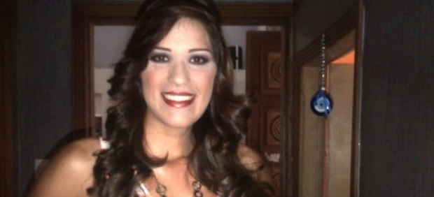 La candidata a Miss Venezuela Ana Osío