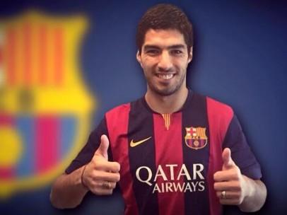 Luis Suárez, al Barça