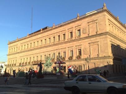 Palacio de Gobierno en Saltillo