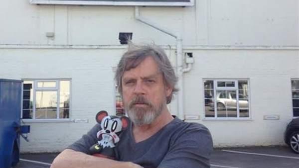 Mark Hamill, en el rodaje del ´Episodio VII´.
