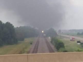 Accidente de tren en Arkansas