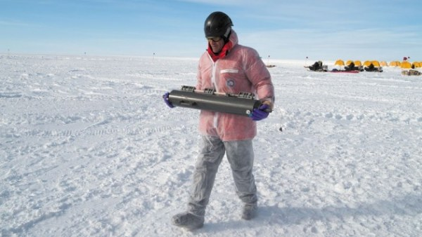 Investigando bajo el hielo de la Antártida