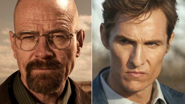 Bryan Cranston y Matthew McConaughey, protagonistas de Breaking Bad y True Detective
