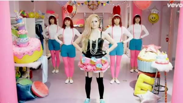 Vídeo ´Hello Kitty´ de Avril Lavigne