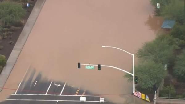 Lluvias en Phoenix