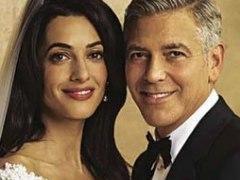 Boda de George Clooney y Amal Alamuddin