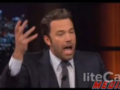 Ben Affleck en el programa ´Real Time with Bill Maher´