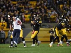 Steelers anota 24 puntos en 3 minutos y vencen a Texans