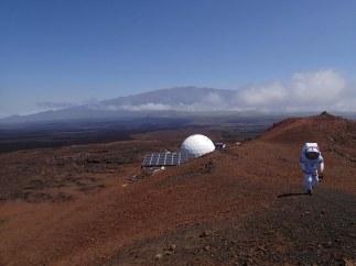Simulaci�n de estancia en Marte