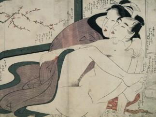 Kitagawa Utamaro, Livre illustré : L'étreinte de Komachi (Ehon Komachi biki), 1802
