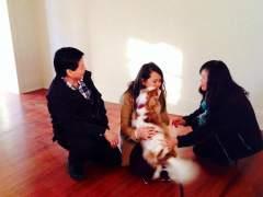 Nina Pham se reencuentra con su perro