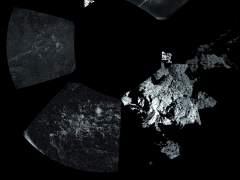 Lo que ve Philae