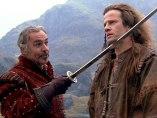 Sean Connery y Christopher Lambert en Los inmortales