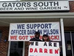 El policía Darren Wilson agradece el apoyo  de la comunidad