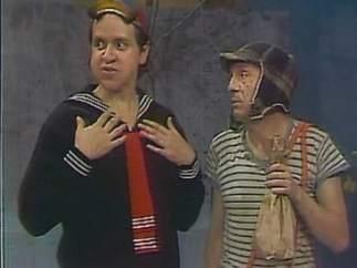 Quico y Chespirito en una imagen de ´El Chavo del 8´