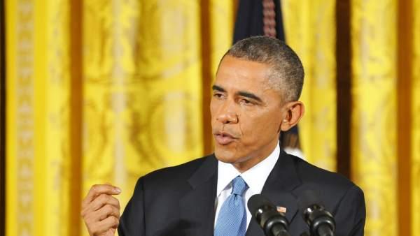 El Presidente de Estados Unidos, Barack Obama, seguira un tratamiento para controlar el reflujo.