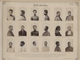 """Süd-Afrika"" from Anthropologisch-ethnologisches Album in Photographien [Anthropological and ethnographical album in photographs]. Albumen print, 1873–76."