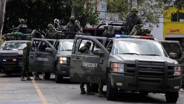 Operativo en Michoacán