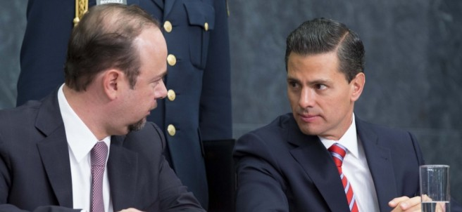 Enrique Peña Nieto durante el evento Diálogos sobre la Educación Superior en México