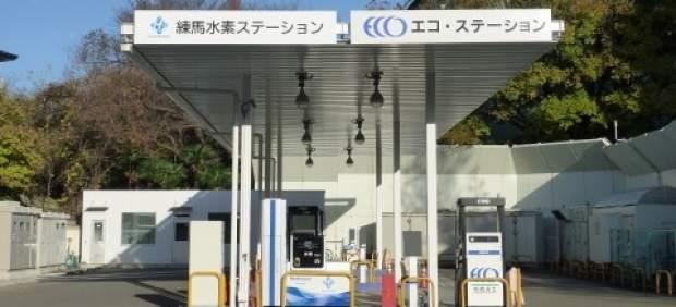 Una estación de hidrógeno en Japón