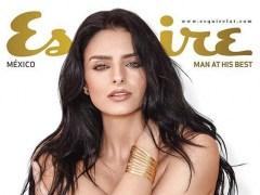 Aislinn Derbez en la portada de Esquire