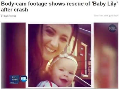 Baby Lily, una menor que sobrevivió 14 horas en el agua