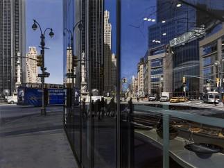 Columbus Circle Looking North, 2009