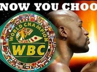 Aficionados al box votaron por el cinturón para el ganador