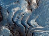 Estratos en Marte