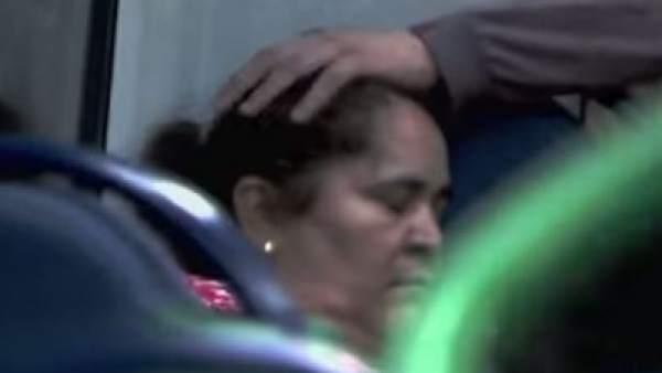 Mujer desmayada