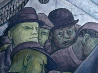 Detroit Industry, north wall (detail), Diego Rivera, 1932-33