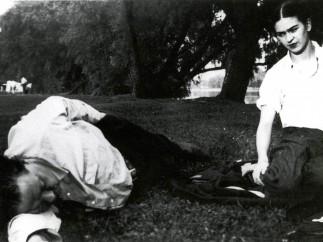 Rivera and Kahlo on Belle Isle