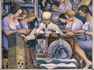 Detroit Industry, south wall (detail), Diego Rivera, 1932