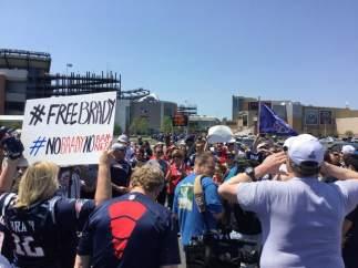 Protestas de fans de Tom Brady
