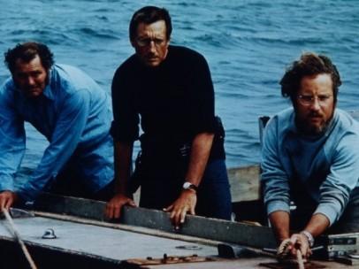 Escena de la película Tiburón