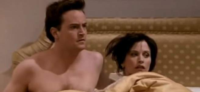 Chandler y Monica, de Friends