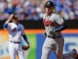 Bravos aventaja a Mets en la onceava entrada