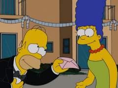 Homer y Marge