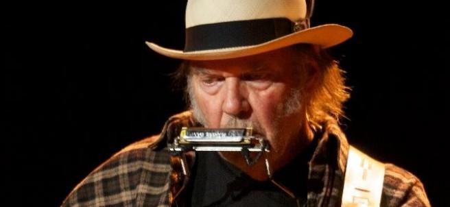 El cantante Neil Young