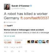 Tuit de Sarah O�Connor