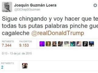 Cuenta de Twitter del Chapo