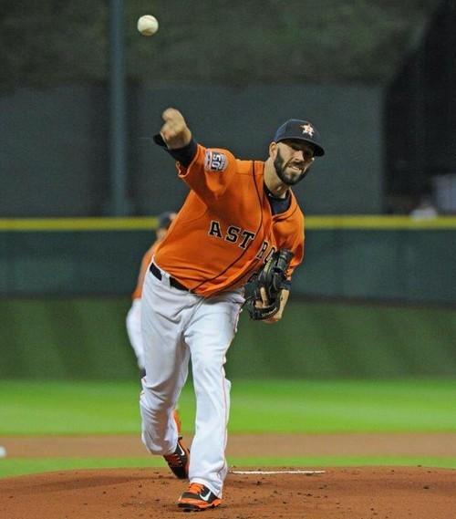 Mike Fiers Stanton Tweet: Mike Fiers Lanza Un Juego Sin Hit Y Astros Vence A Los