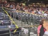 Muere fanático en estadio