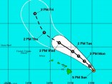 Huracán Ignacio pasará cerca de Hawai