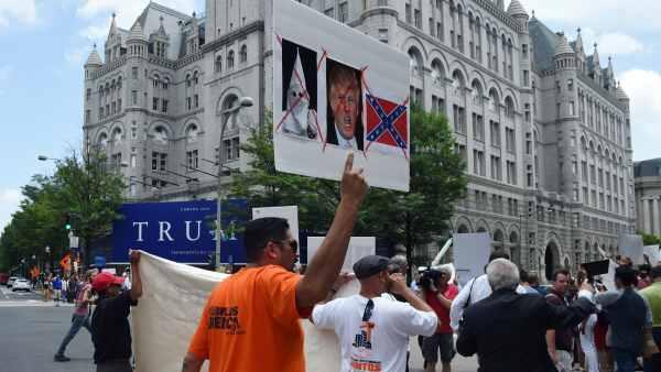 Protesta contra Donald Trump