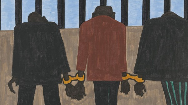Jacob Lawrence. The Migration Series. 1940-41. Panel 22
