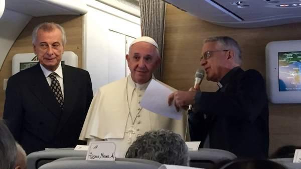 Papa Francisco emprende viaje a Cuba